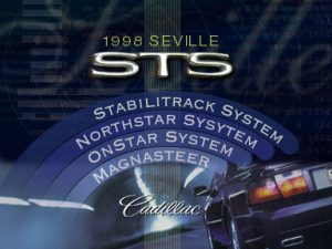 CD Rom Cadillac 1998 Seville STS