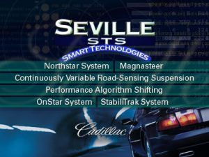 CD Rom Cadillac 1998 Seville STS Tech