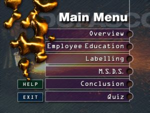 CD Rom Dofasco Menu