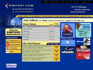 Web Design Business Empori Orders